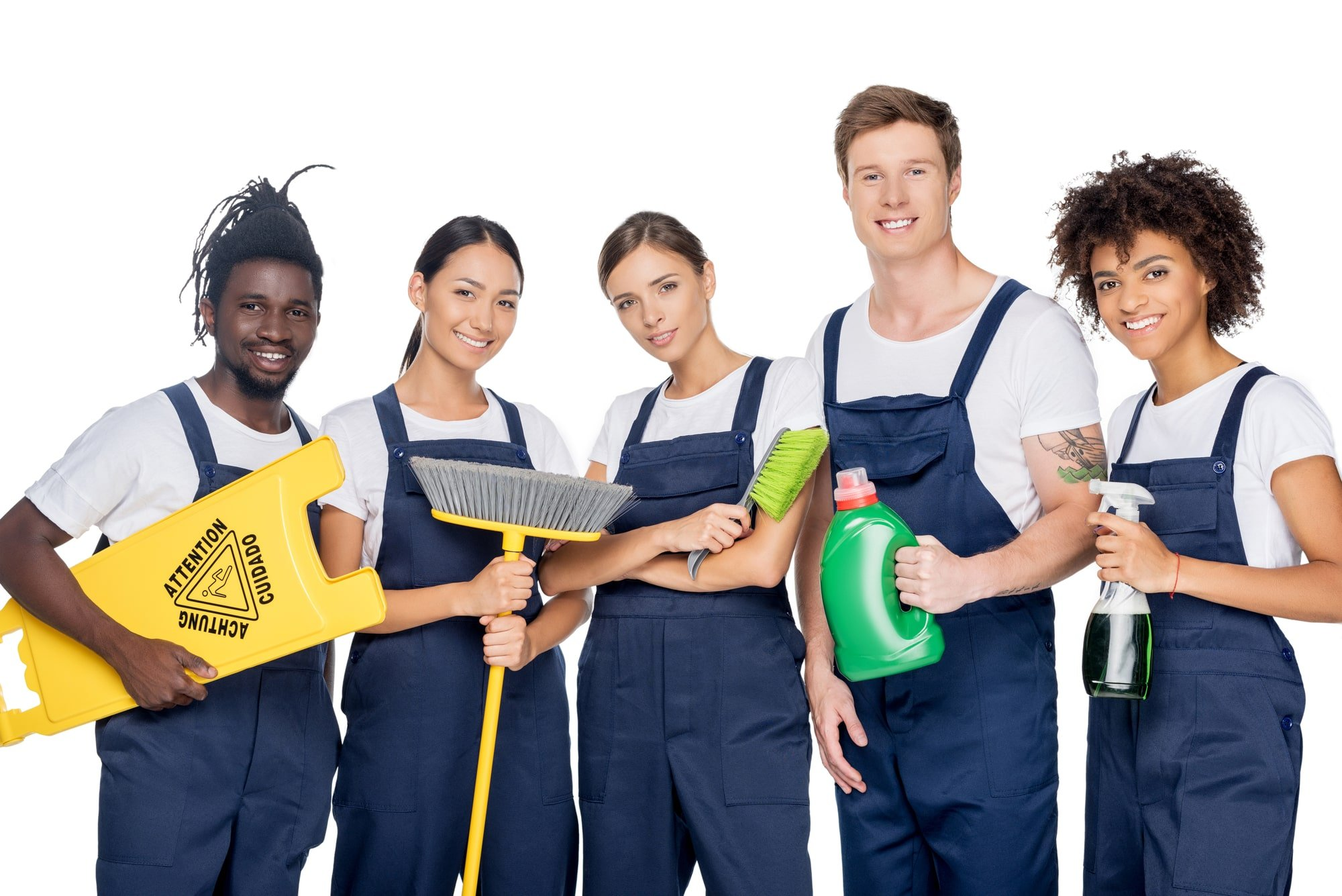 ace cleaning company team